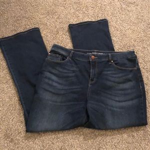 Chico's barely boot jeans size 2
